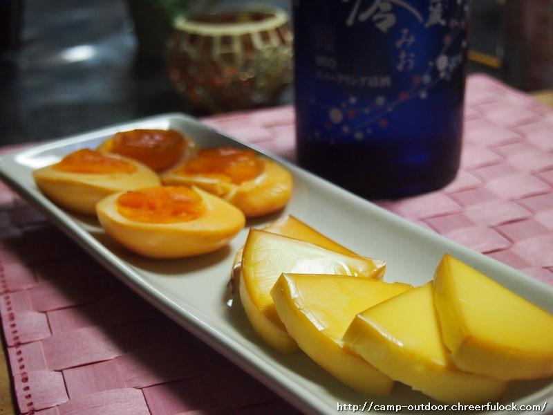 【キャンプ料理】マンションでも出来る、簡単チーズとたまごの燻製